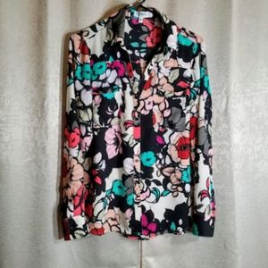 Express The Portofino long sleeve button up sz M